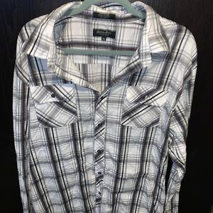 Mens button down shirt eighty eight platinum brand